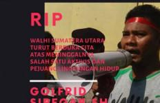 Polisi Autopsi Jenazah Aktivis Walhi Sumut Golfrid Siregar - JPNN.com