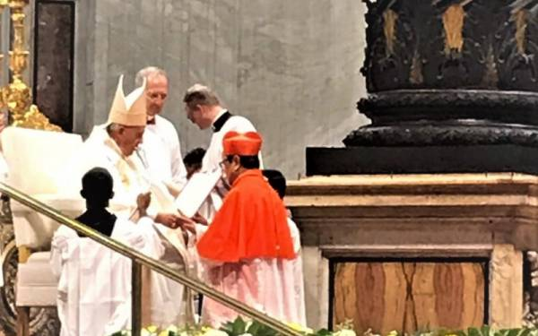 Mgr Ignatius Suharyo Jadi Kardinal, Indonesia Raya Berkumandang di Vatikan - JPNN.com