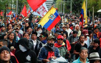 Bungkam Aspirasi Rakyat, Presiden Ekuador Berlakukan Jam Malam