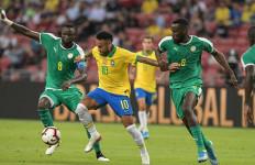 Turun dengan Kekuatan Penuh, Brasil Ditahan Imbang Senegal - JPNN.com