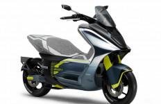 Yamaha E01, Skuter Listrik Pesaing Baru Honda PCX Electric - JPNN.com