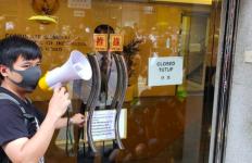 Buruh Migran Indonesia Gelar Aksi Damai di Konjen RI Hongkong - JPNN.com