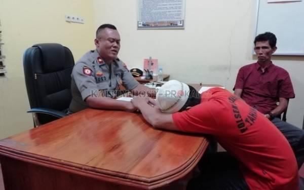 Lihat, Ayah Pencabul Anak Kandung Menangis Saat Diperiksa Polisi: Tolong Pak! - JPNN.com
