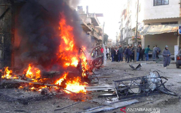 Bom Mobil Meledak di Penjara Tahanan ISIS - JPNN.com