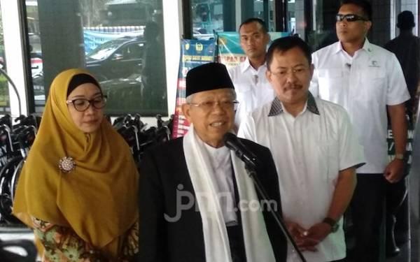 Kapolresta Tangerang Resmi Jadi Ajudan Wapres Ma'ruf Amin - JPNN.com