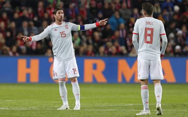 Sergio Ramos Ukir Rekor Bersama Timnas Spanyol - JPNN.com