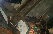 Dua Rumah Warga Rusak, Satu Orang Terluka Akibat Tertimpa Tembok Mal - JPNN.com