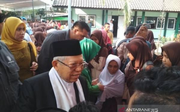 Pernyataan Ma'ruf Amin Terkait Peristiwa Penusukan Wiranto - JPNN.com