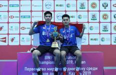 Indonesia Raih 2 Gelar Juara Dunia Bulu Tangkis Junior 2019 - JPNN.com