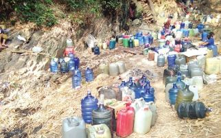 Demi Air Bersih Harus Menginap di Tengah Hutan