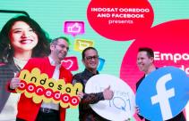Indosat Ooredoo Bersama Facebook Luncurkan Kampanye Internet 1O1 - JPNN.com