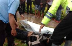 Surahman Tewas di Jalan Saat Hujan Deras Mengguyur Bogor - JPNN.com