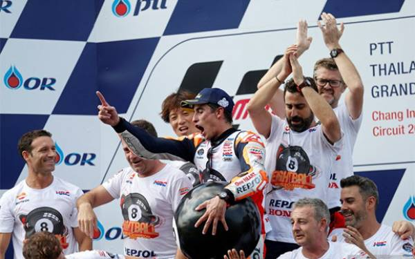 Marc Marquez Masih Incar Triple Crown - JPNN.com