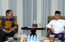 Temui KH Ma'ruf Amin, MPR RI Siap Gelar Pelantikan Presiden dan Wakil Presiden - JPNN.com