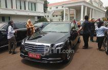 Menyelisik Sedan Mewah Tamu Negara di Pelantikan Presiden dan Wapres Jokowi-Ma'ruf - JPNN.com