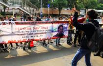 Gelar Aksi Demo, Massa Desak KPK Garap Dugaan Royalty Fee Asian Games 2018 - JPNN.com