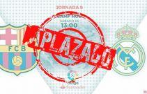 El Clasico Barcelona vs Real Madrid Resmi Ditunda - JPNN.com