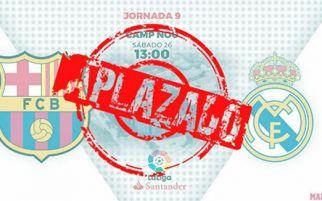 El Clasico Barcelona vs Real Madrid Resmi Ditunda