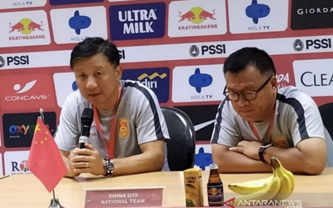 Komentar Pelatih Tiongkok Usai Kalah dari Timnas Indonesia U-19