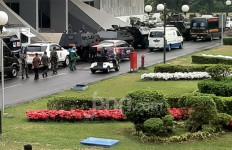Suasana Terkini Jelang Pelantikan Jokowi, Di Mana-Mana Ada Polri dan TNI - JPNN.com