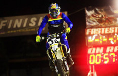 Asep Lukman Jadi Jawara Trial Game Dirt 2019 - JPNN.com