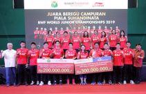 Juara di Kazan, Tim Bulu Tangkis U-19 Diganjar Bonus Rp 500 Juta - JPNN.com