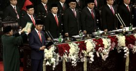 Teks Lengkap Pidato Perdana Jokowi sebagai Presiden RI 2019-2024
