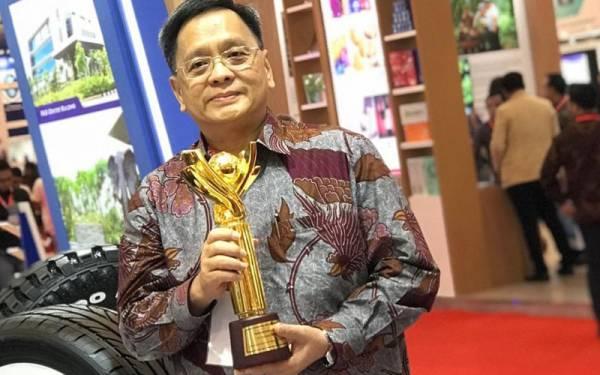 Gajah Tunggal Raih Penghargaan Primaniyarta di TEI 2019 - JPNN.com