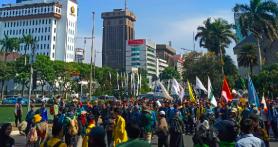 Ada Keramaian di Sekitar Istana Negara, Transjakarta Alihkan Sejumlah Rute