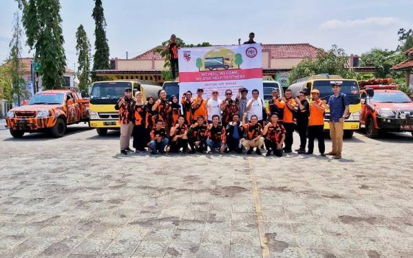 Sapma PP dan WPS.inc Salurkan Bantuan Air Bersih untuk Warga Gunung Kidul - JPNN.com