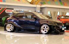 Nissan Juke Asal Bukittinggi Ini Sita Perhatian Juri MBtech Awards Palembang - JPNN.com