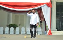 Lapor, Pak Surya Paloh! Syahrul Yasin Limpo Semringah Tiba di Istana - JPNN.com