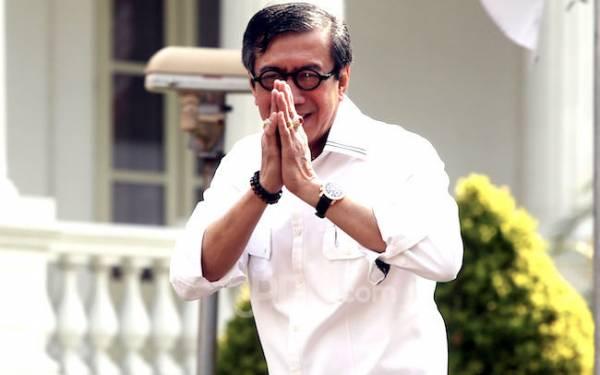 Sukses Merevisi UU KPK, Yasonna Dapat Tugas Baru dari Jokowi - JPNN.com