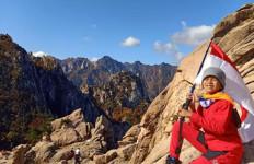 Pendaki Cilik Fayyadh Syafiq Menjelajah Alam di Gunung Seorak - JPNN.com