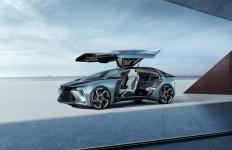 Lexus LF-30, Mobil Listrik dengan Bantuan Drone - JPNN.com