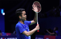 Luar Biasa! Ginting Ukir Sejarah di BWF World Tour Finals 2019 - JPNN.com