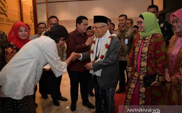 Satire dari Ma'ruf Amin soal Garis Tangan Menteri dan Wamen, Tajam tetapi Lucu - JPNN.com