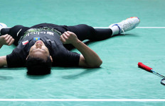 Dramatis, Axelsen Kejang Otot, Jojo Tembus Final French Open 2019 - JPNN.com