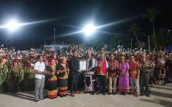 Micky AFI Sukses Guncang Panggung Festival Hudoq Crossborder 2019 - JPNN.com
