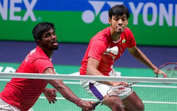 2 Pria India Hantam Tiang Listrik Tiongkok di Fuzhou China Open 2019 - JPNN.com