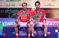 Kampiun di French Open 2019, Minions: Bulu Tangkis Sangat Menyenangkan Buat Kami - JPNN.com