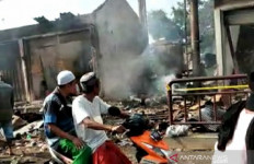 180 Kios di Pasar Tanah Merah Bangkalan Gosong - JPNN.com