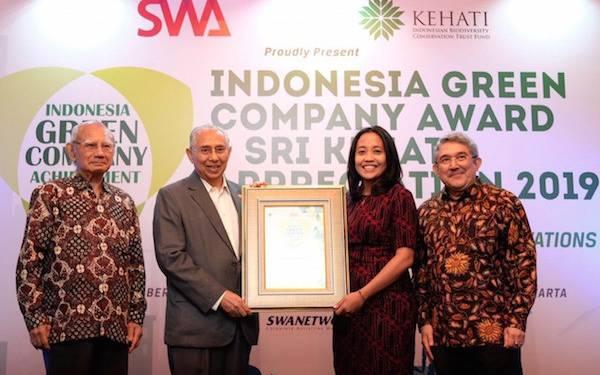 PT Royal Lestari Utama Kembali Memenangkan Green Company Award - JPNN.com