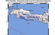 Pangandaran Digoyang Gempa, Dirasakan Hingga Tasikmalaya dan Ciamis - JPNN.com
