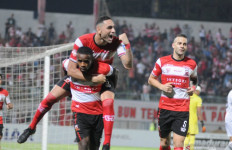 Gol Tunggal Greg Nwokolo Bawa Madura United Taklukkan Tira Persikabo - JPNN.com