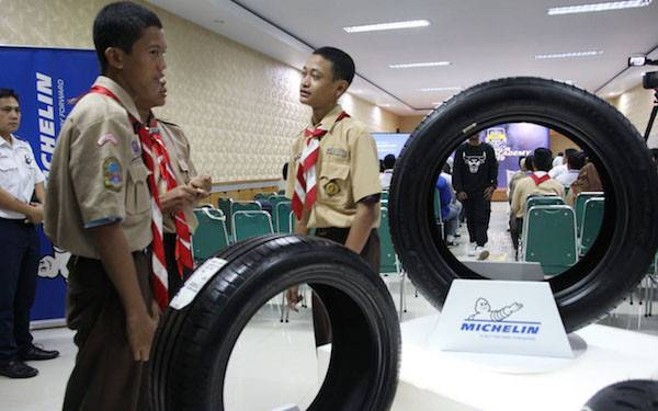 Michelin Ajak Ratusan Pelajar Milenial Taat Berkendara - JPNN.com
