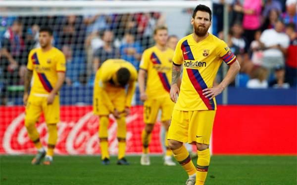 Barcelona Tumbang di Kandang Levante - JPNN.com