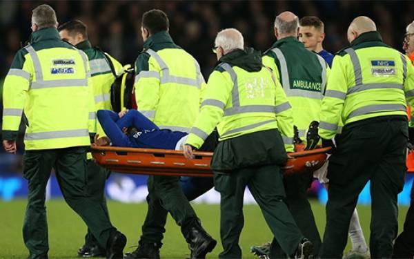 Everton vs Tottenham Hotspur Imbang, Kaki Andre Gomes Patah - JPNN.com