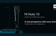 Edan! Xiaomi Mi Note 10 Resmi Bawa 5 Kamera Beresolusi 108 MP - JPNN.com