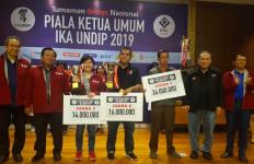 Tim Banten Raih Juara Utama di Turnamen Bridge Nasional IKA Undip - JPNN.com